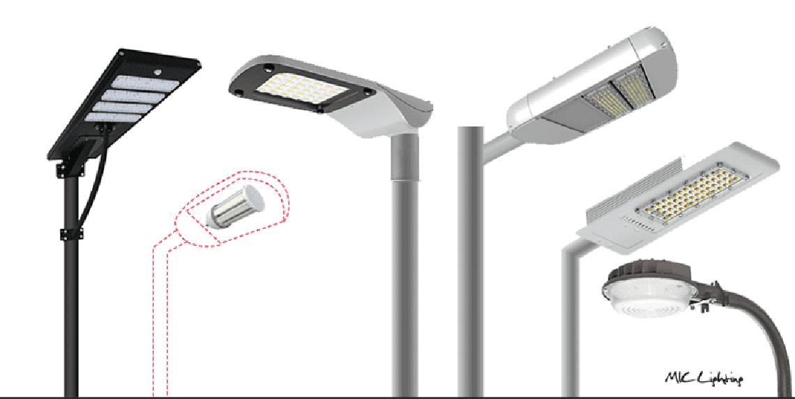 mic led lighting