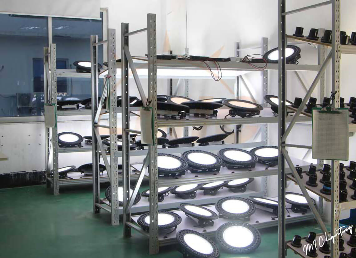 composition introduction of UFO highbay light