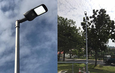 100w led street light project case-thum