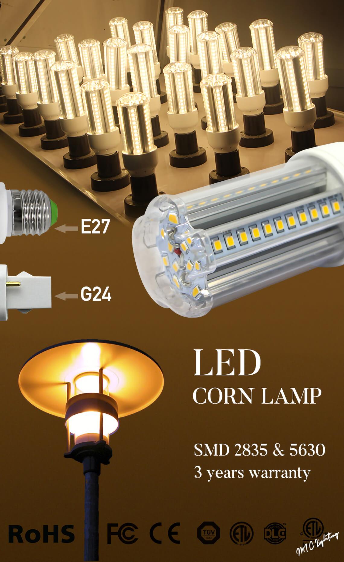 12w LED Corn Bulb
