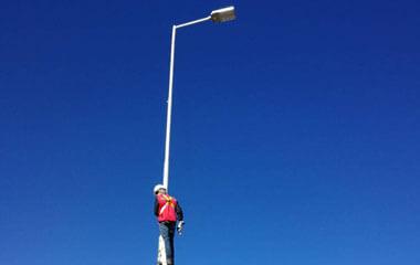 180w led street light project-2