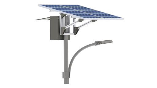 Solar Powered LED Street Lights